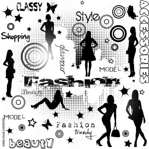 moda-reklama-z-sylwetkami-kobiet