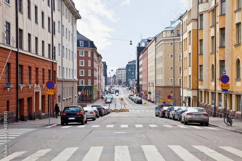 Fototapeta City Helsinki. Cityscape