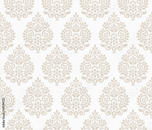 Traditional floral background - 61394727