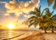 canvas print picture - Barbados