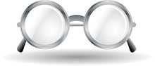Metal Rounded Glasses