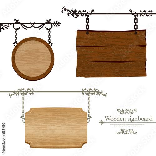 Fotografía  木製の看板