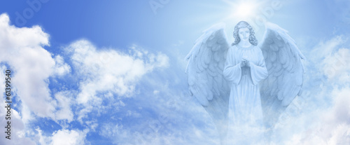 Foto  Guardian Angel in the Sky