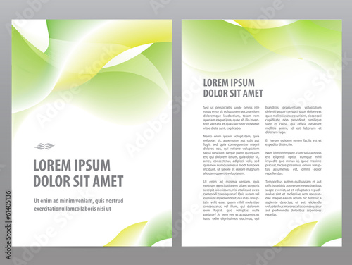 Business brochure blank design, flyer print template - Buy this
