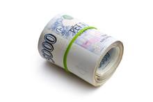 The Roll Of Czech Money
