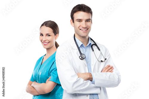 Fotografia  Doctor and nurse