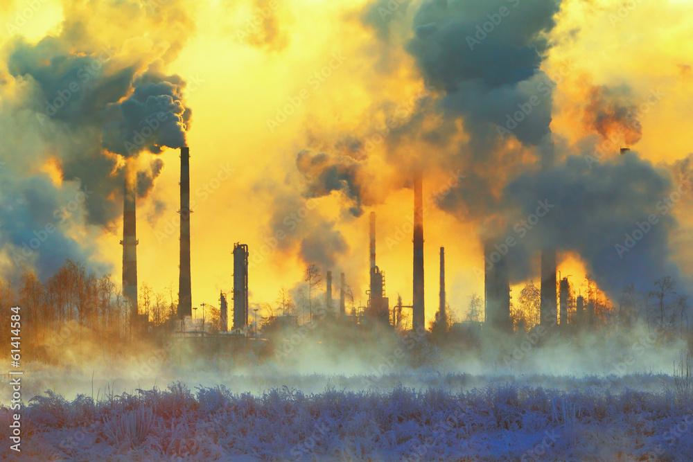 Fototapeta Environmental pollution