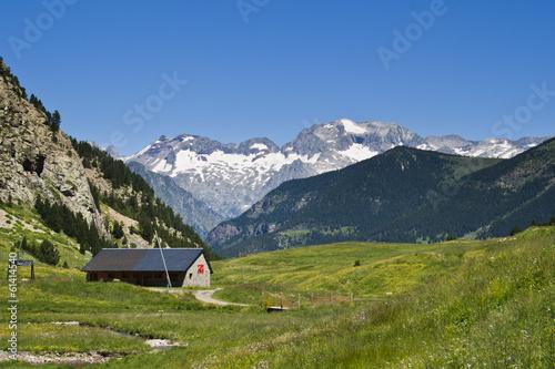 Fotografia Perdiguero, desde Cerler. Pirineos