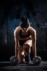 Panel Szklany Do klubu fitness / siłowni Sexy fitness