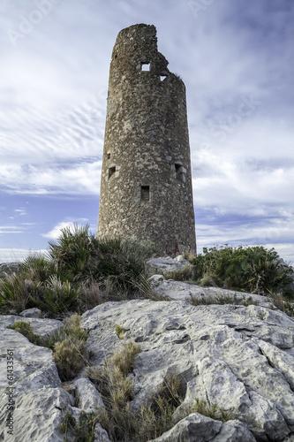 Fotografija old watchtower on the Mediterranean coast