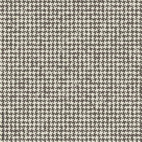 Photo  Seamless Pattern woven texture houndstooth