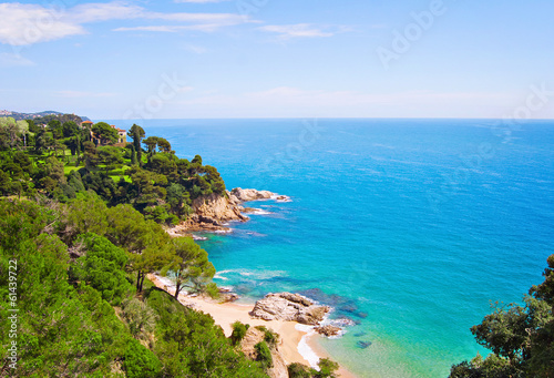 Photographie Seafront of Lloret de Mar, Spain
