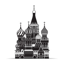 Saint Basil Cathedral , Moscow...