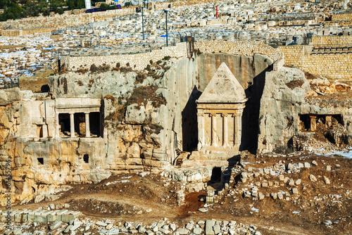 Fotobehang Midden Oosten Tomb of Zechariah in Jerusalem