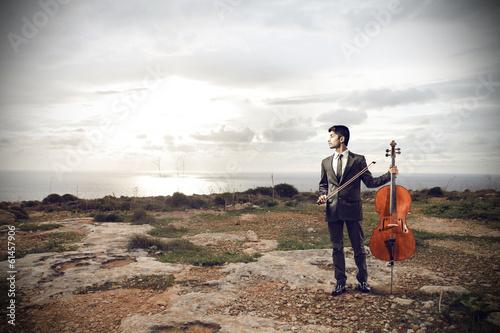 Fotografía cello player