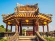 Pagoda at the Imperial City, Hue, Vietnam.