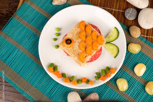Fotografía  Fish sandwich