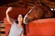 Having fun with my horse