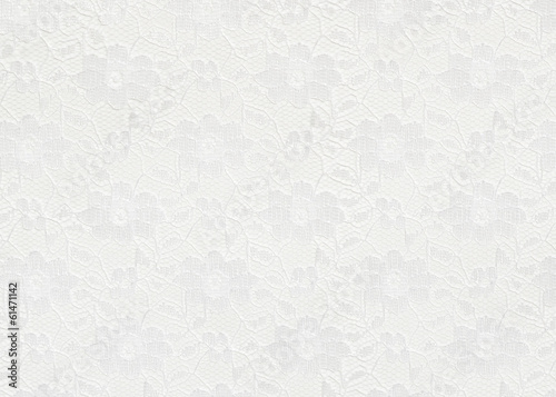 Valokuvatapetti White lace background