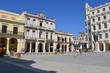 Old square in Havana, Cuba