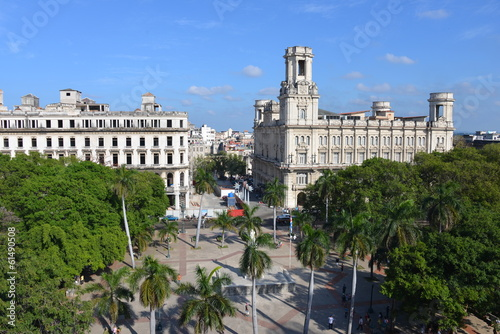 City of Havana, Cuba Canvas Print