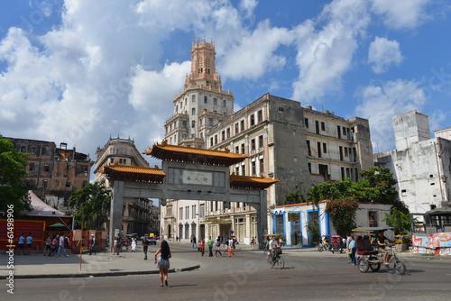 Papiers peints Havana Chinatown, Havana in Cuba