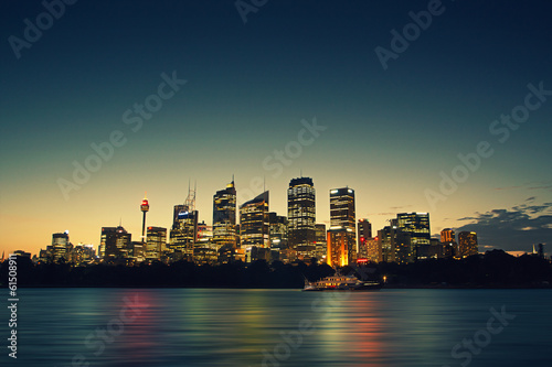 Staande foto Sydney Sydney at Night