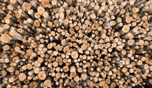 In de dag Brandhout textuur Firewood logs