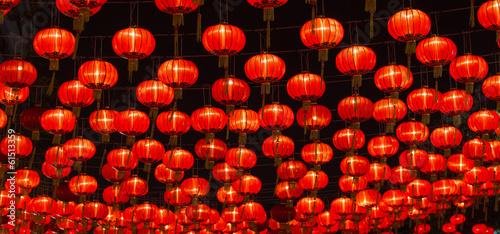 Photo Stands Shanghai Chinese New Year Lanterns