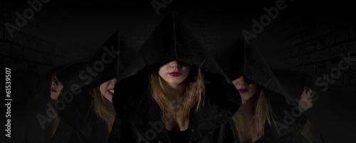 Fotografía Gothic priestess sect