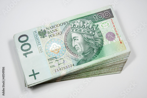 Fotografía  Polish money - 100 zloty PLN