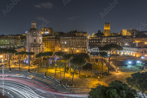Papiers peints Barcelona Traffic in Rome, Italy