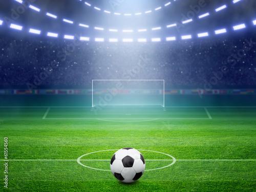 Obraz premium Stadion piłkarski