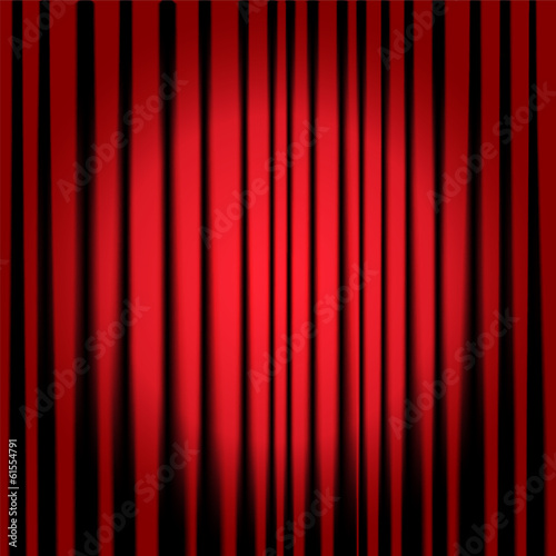 Fotografie, Obraz  Theatre curtains