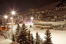 Station De Ski Enneigée