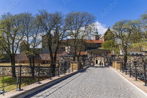 The central gate Akershus Festning Poster
