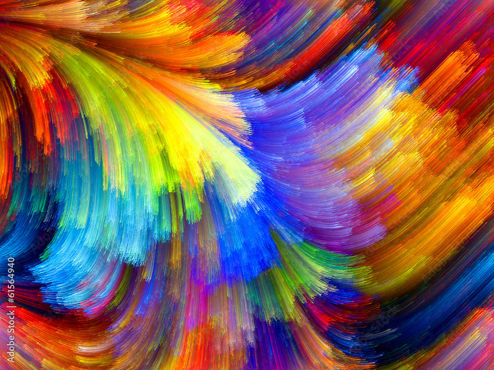 Fototapety, obrazy: Colorful Texture
