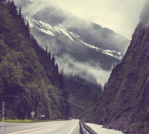 Papiers peints Aubergine Alaska