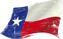 Texas Flag Grunge