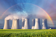 Nuclear Power Plant With Summe...