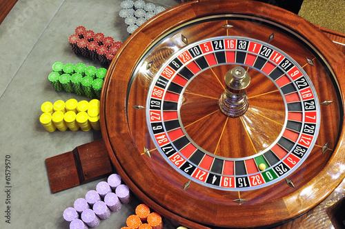 Fototapety, obrazy: roulette wheel