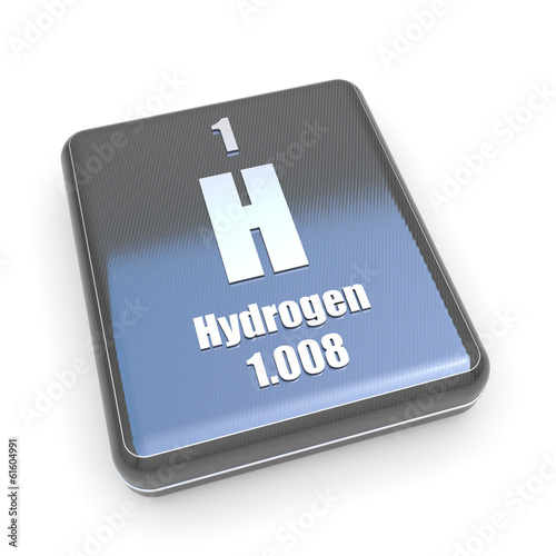 Hydrogen symbol from periodic table on a black box buy this stock hydrogen symbol from periodic table on a black box urtaz Choice Image