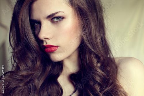Fotografering  Piękna Kobieta