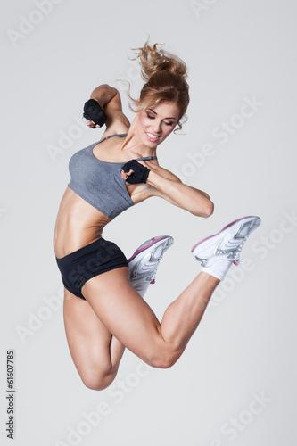 Plakat na zamówienie Aerobics jump