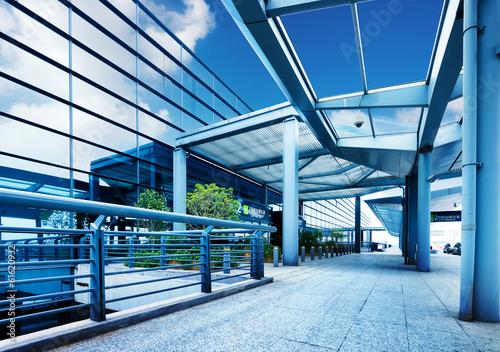 Photo  Shanghai Pudong International Airport Terminal
