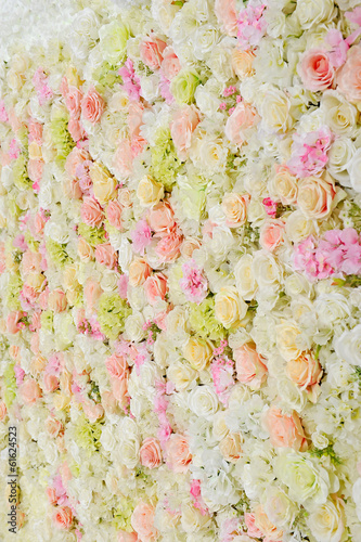 Wall Murals Floral bouquet, floral background