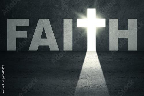 Tablou Canvas Faith Door