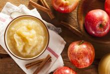 Healthy Organic Applesauce Wit...