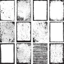 Grunge Backgrounds And Frames ...