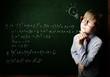 Smart schoolboy